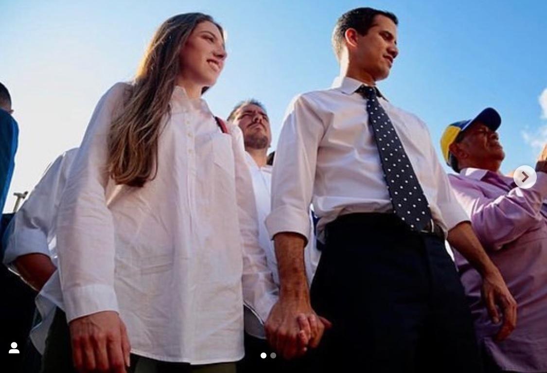 337dbe700 Conoce a la esposa de Juan Guaidó
